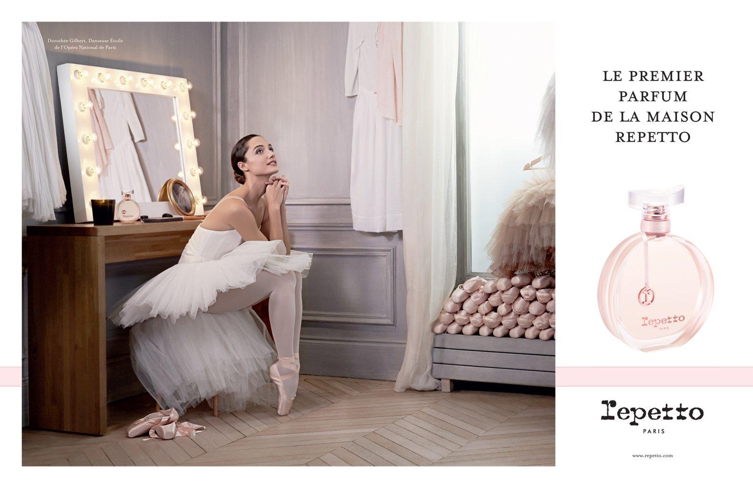 Célèbre 1er parfum de Repetto by James bort | Pierre Jouvion | Director of  BO52